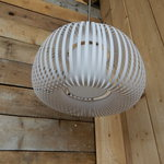 Hanging lamp Willemse verlichting, Esteno, chrome / white ...
