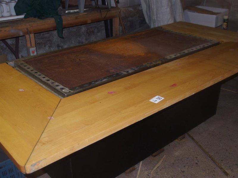Afzuigkap Op Maat : Teppanyaki tafel maat m afm. lxb ca. 360x127cm gedemonteerd