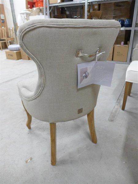 Eetkamerstoelen Riviera Maison Sale.Stoel Riviera Maison George Dining Chair Linnen Flax Nieuw In Doos