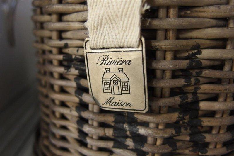 Onwijs Stolp riet Riviera Maison Traiteur, afm. dxh ca. 22x22 cm ZD-48