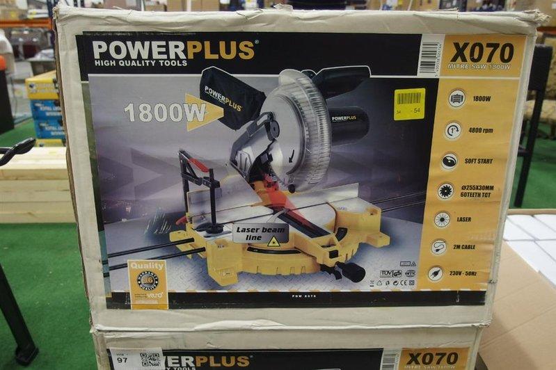 Afkortzaag Tools Zaagblad 255 Mm Soft Start 45 Gr Verstelbaar Met Laser