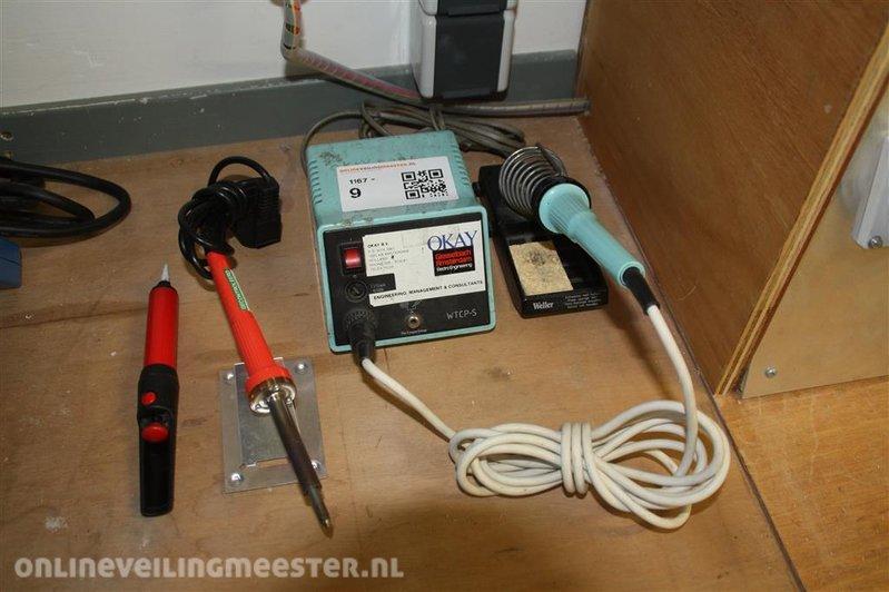 Bekend Soldeerapparaat Weller WTCP-Sen soldeerbout Weller Sp 40L PS87