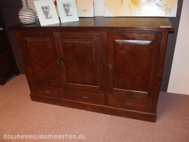 Home affaire tv meubel gali« massief hout in afmetingen met