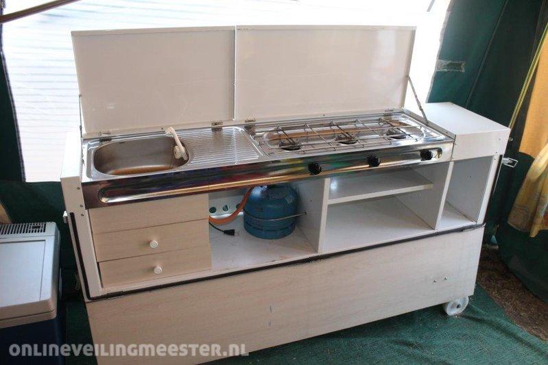 Vouwwagen met keuken holtkamper keuken te koop fresh persoons
