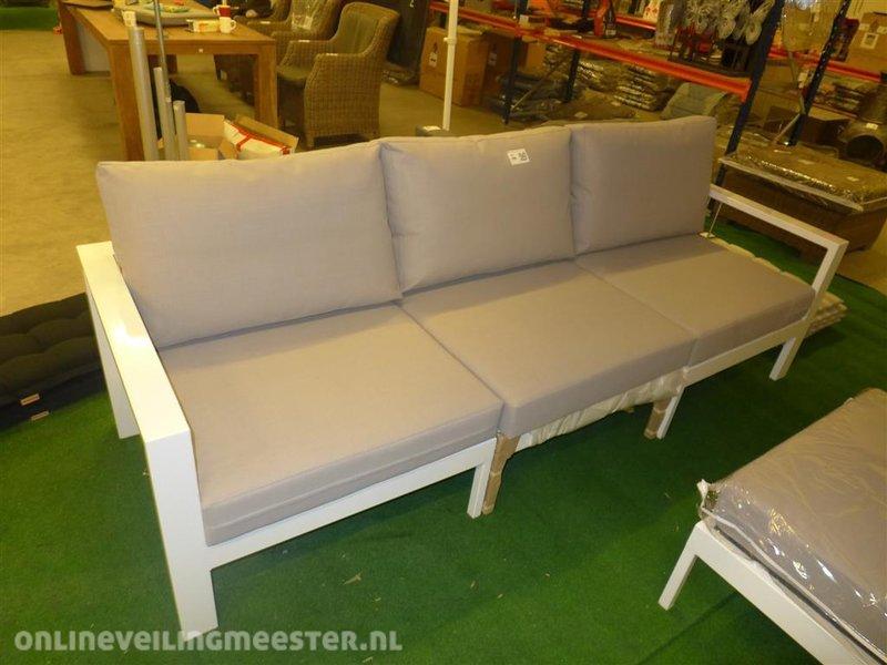 All Weather Kussens : Loungebank life model mikki 3 delig lxbxh ca. 249x85x64cm