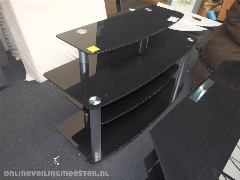 Tv Meubel Verrijdbaar : Tv meubel glas met metaal lxbxh ca cm verrijdbaar