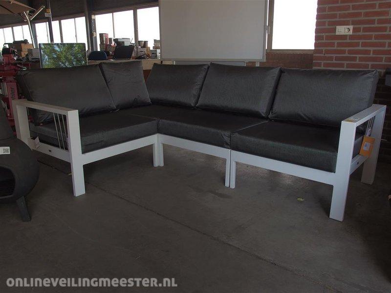 All Weather Kussens : 4 delige lounge set mikki life aluminium frame met kussens