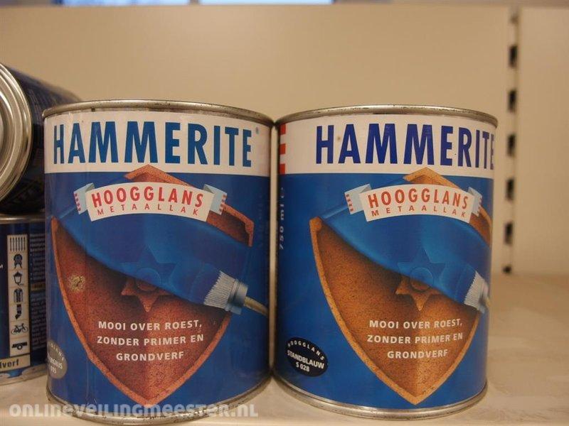 Hammerite Verf Kleuren