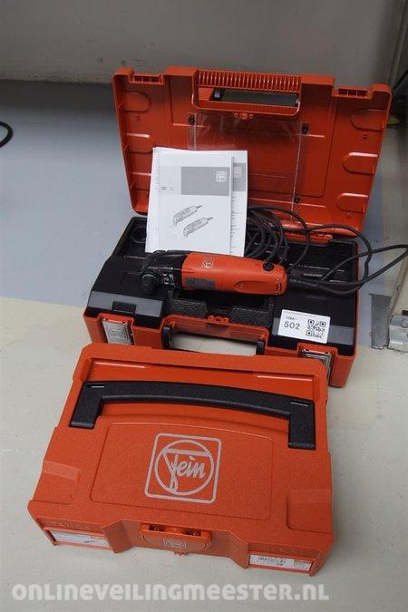 Multimaster Fein, type FMM250Q, 250Watt, 220Volt in koffer inclusief 2x  lege koffer Fein
