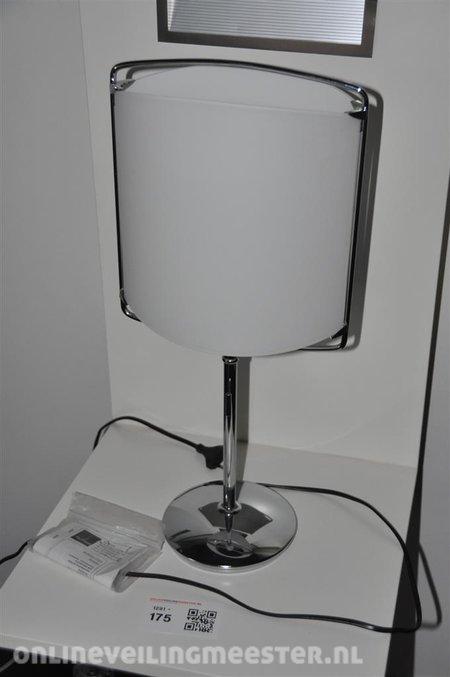 Tafellamp Tre Ci Luce model Monna Lisa, glas/chroom, afm. hxb ca ...