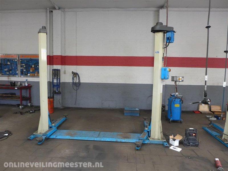 2 koloms hefbrug autec model alm2524 hefver for Ponte sollevatore auto 220v usati
