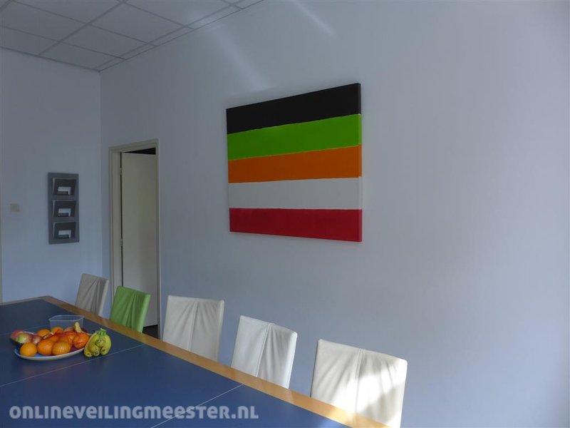 Wanddecoratie Op Doek.Wanddecoratie Gekleurd Doek Onlineveilingmeester Nl