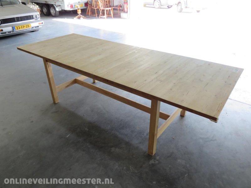 Ikea Uitschuifbare Tafel.Uitschuifbare Tafel Ikea Norden Onlineveilingmeester Nl