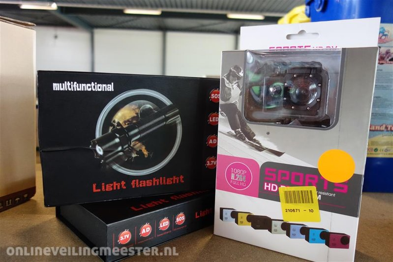 Afstandsbediening Lampen Action : Led lampe und action cam onlineauctionmaster