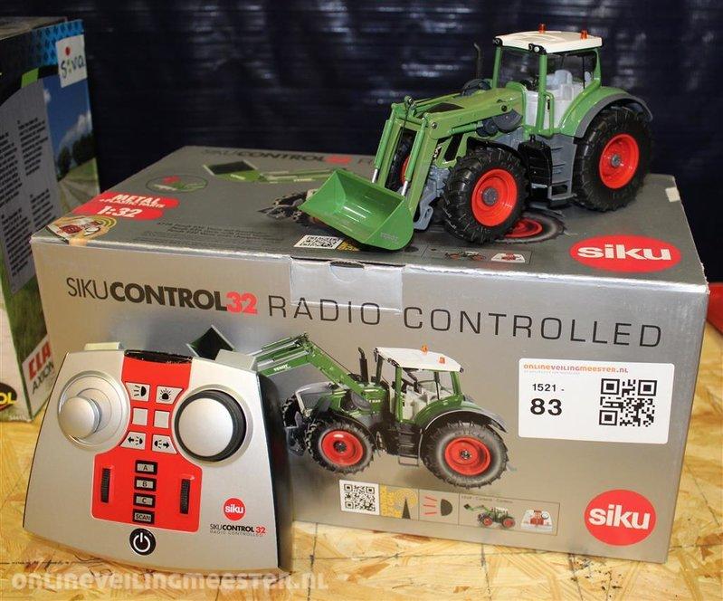 Fendt traktor mit frontlader siku control onlineauctionmaster