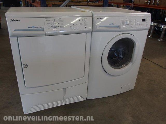 Verrassend Wasmachine en wasdroger Nordland - Onlineveilingmeester.nl BW-89