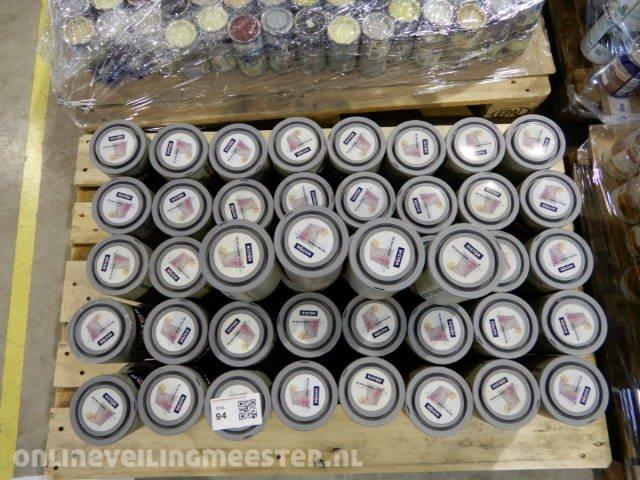 Histor Kleuren Verf.Ca 84x Pot Verf A 1 Liter Histor Muurverf Diverse Kleuren