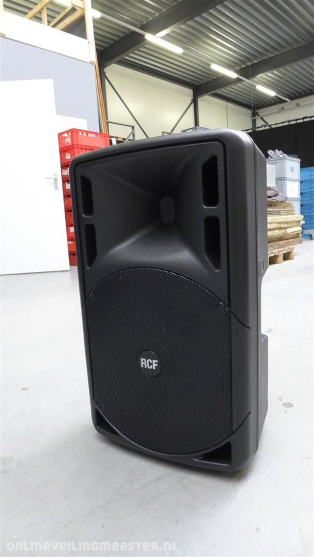 8e71095cac7 Actieve topspeaker incl. transporthoes RCF, ART-315, Zwart ...