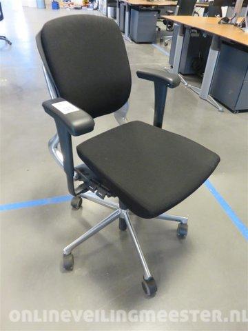 Ahrend 230 Bureaustoel Zwart.Ergonomische Bureaustoel Ahrend 230 Zwart Met Chrome