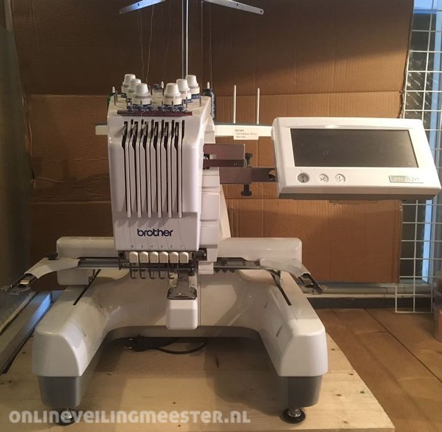 Super Borduurmachine Brother, PR 620, Wit - Onlineveilingmeester.nl BA-34