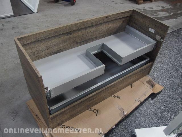 Detremmerie No Limit 40.Washbasin Under Cupboard Detremmerie No Limit Gray Oak 120x45x59cm