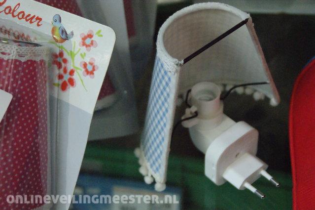 15x Roze Bank : Ca nachtlampje living colours vintage look