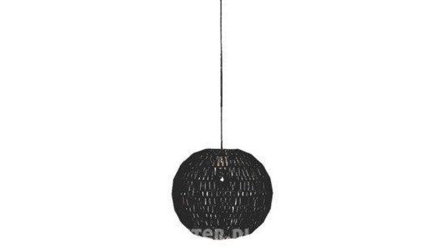 Hanglamp Willemse verlichting, Knit, zwart - Onlineveilingmeester.nl