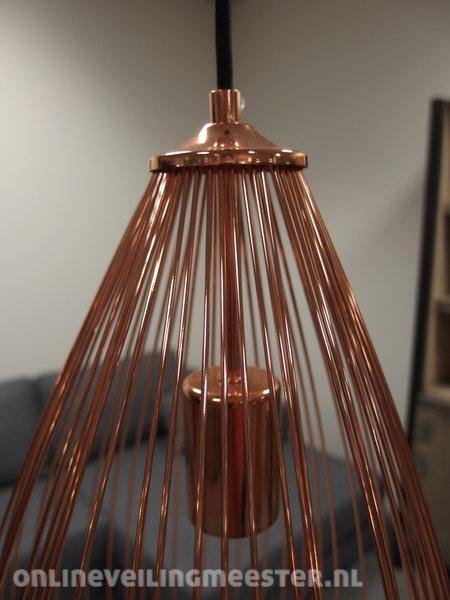 Hanglamp Willemse verlichting, wire, copper - Onlineveilingmeester.nl