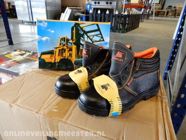 Agri Sport Werkschoenen.10x Werkschoenen Forklift Maat 41 T M 47 Zwart