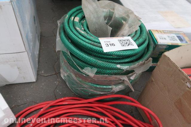 Gartenschlauch Hozelock Tricoflex grün 1//2/'/' 20 m