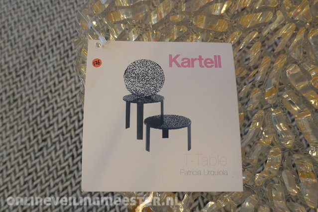 Kartell T Table Bijzettafel.Design Bijzettafel Kartell T Table