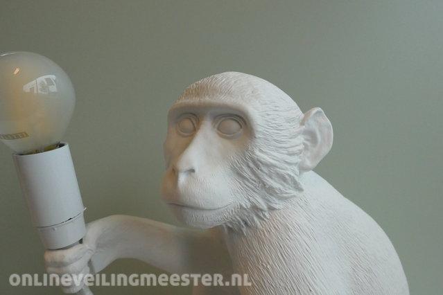 Design Tafel Lamp : Design led tafellamp seletti monkey wit onlineauctionmaster