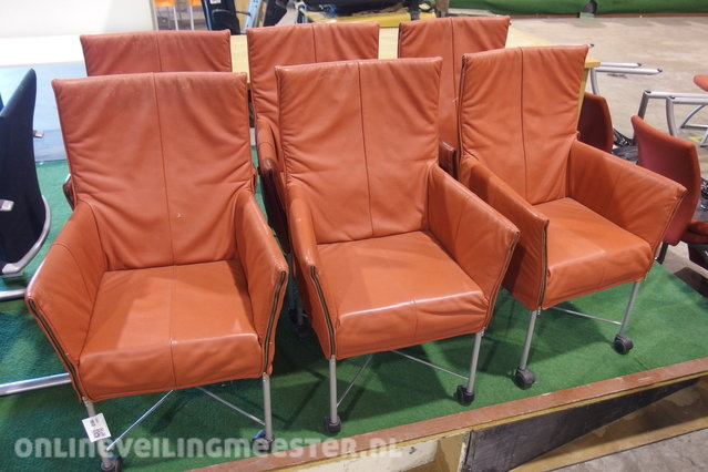 Fauteuil Charly Montis.6x Design Fauteuil Montis Charly Terra Onlineveilingmeester Nl