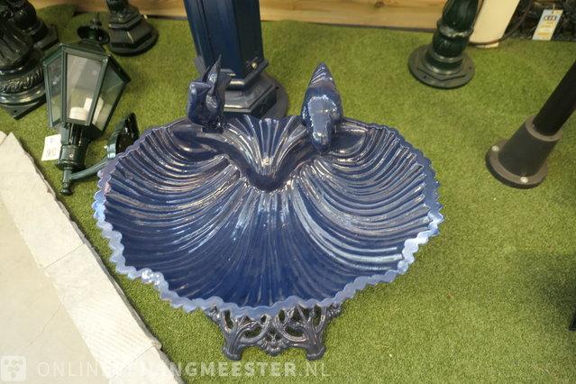 Vogelbad K.S. Verlichting, blue - Onlineauctionmaster.com