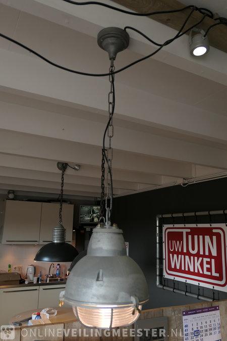 Industriële hanglamp K.S. Verlichting - Onlineauctionmaster.com