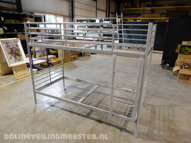 Steel Bunk Bed Excluding Mattresses