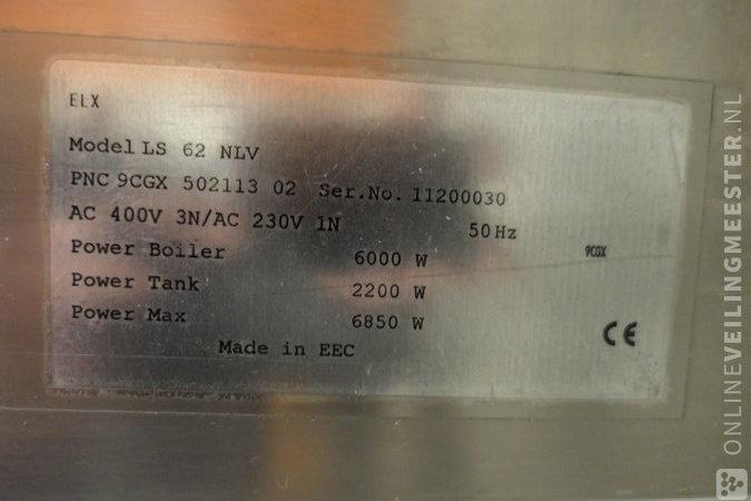 Commercial dishwasher Zanussi, Gray / Chrome