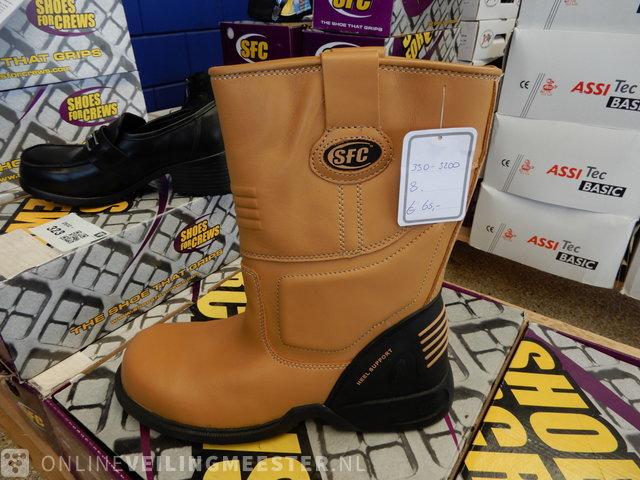 13pr Work shoes SFC, diverse soorten en maten, black / sand