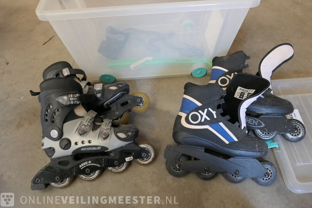 df7300456f3 2 pairs of skeelers - Onlineauctionmaster.com