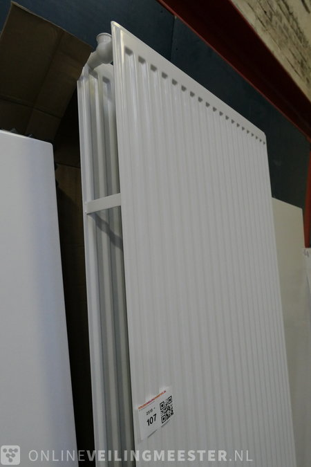 Design Radiator Verticaal.Decor Radiator Thermrad Verticaal White T22x2200x700