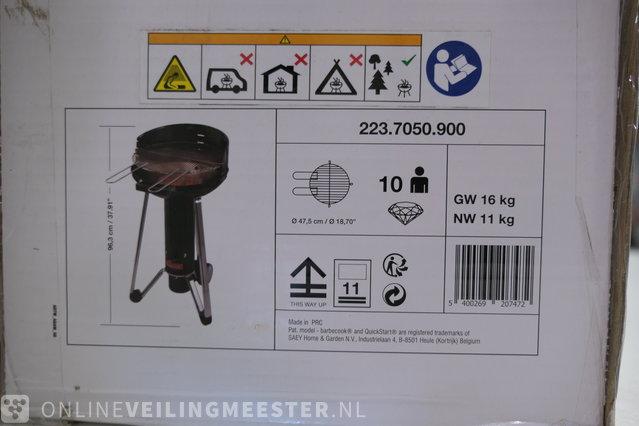 Charcoal barbecue Barbecook, Adam 50, black