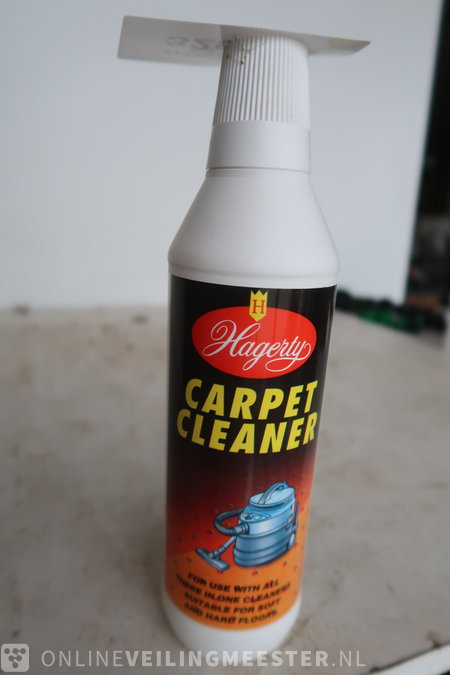 Ca. 23x Carpet cleaner concentrate