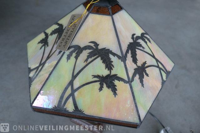 2x Tafellampen Collection artistar,bruin Collection artistar, Bruin