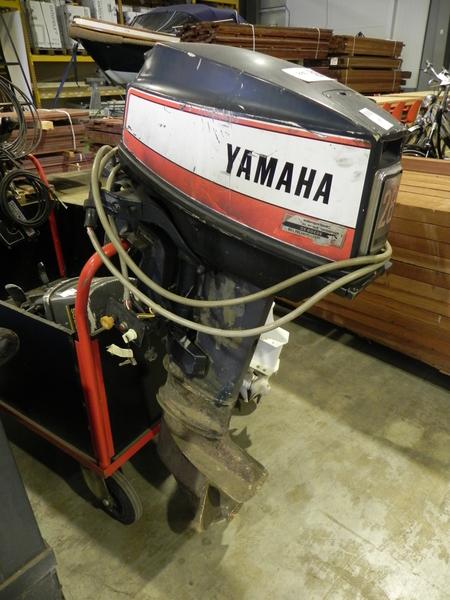 Wonderbaar Buitenboordmotor Yamaha, 28 pk, elektrische start WL-63