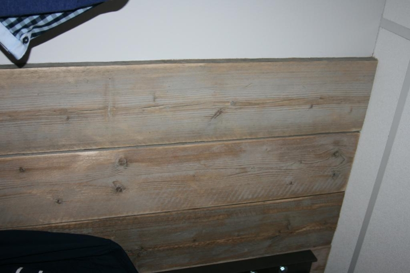 Spiegel Van Steigerhout : Wand steigerhout afm hxb ca cm steigerhout om pilaar