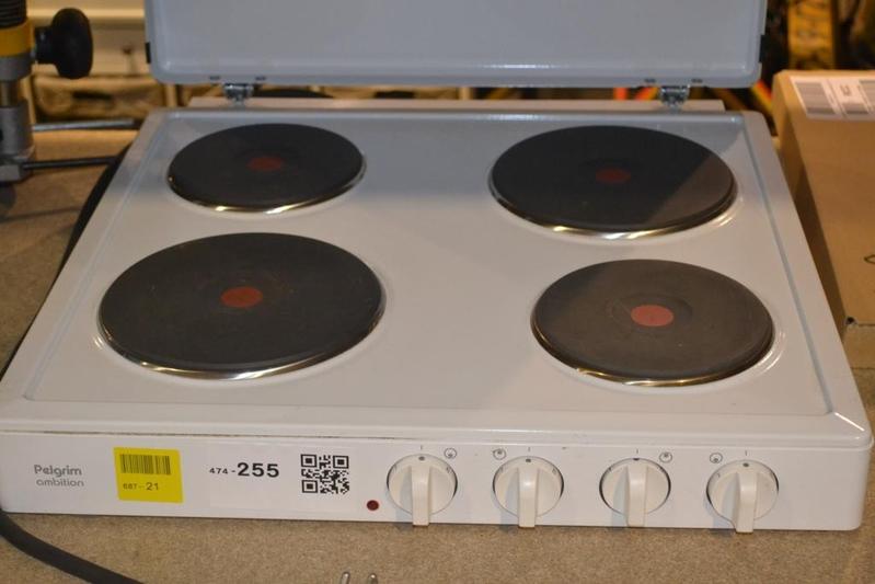 Fonkelnieuw Elektrische kookplaat Pelgrim Ambition, 4-pits, z.g.a.n., 2 fasen PL-11