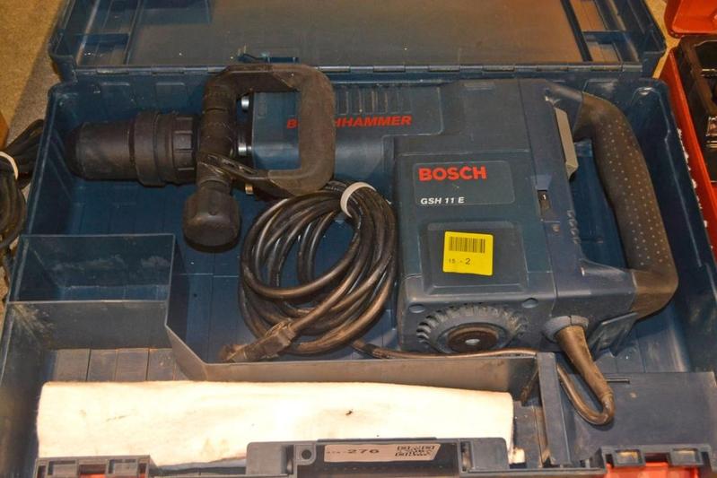breekhamer bosch gsh 11e 220 volt zware uit. Black Bedroom Furniture Sets. Home Design Ideas