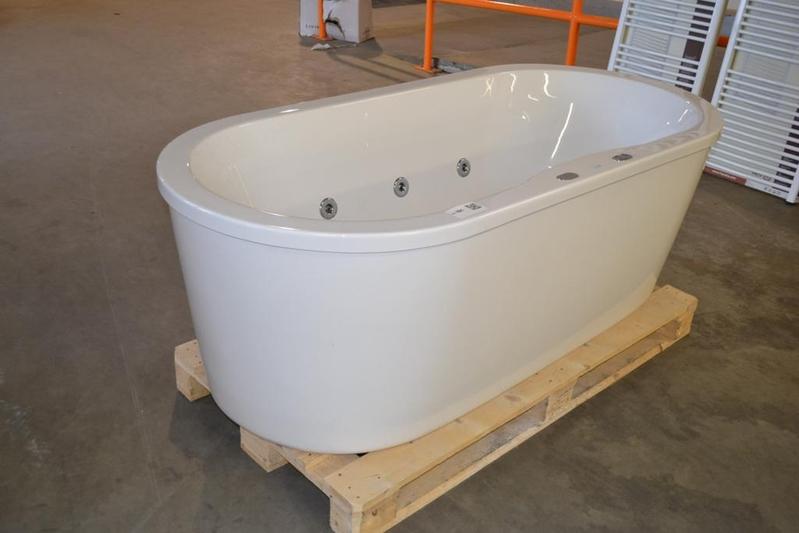 Whirlpool Bad Vrijstaand : Whirlpool vrijstaand wit lxb ca cm