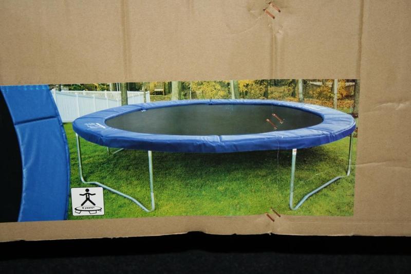 trampoline airlife 370 diameter ca 370 cm. Black Bedroom Furniture Sets. Home Design Ideas