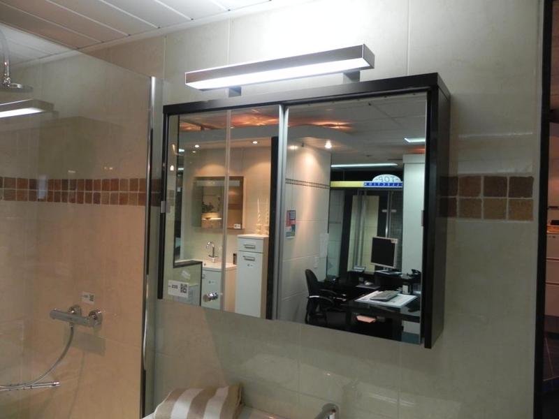 Douche Schuifdeur Outlet : Spiegelkast met schuifdeuren vepa sanitair zelzate alke